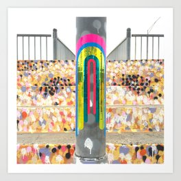 portals of hope sydney australia Art Print