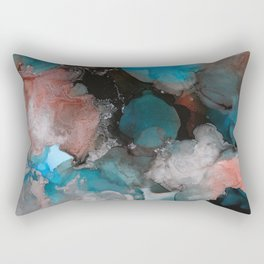 Alcohol Ink 'The Storybook Series:Where the Wild Things Are' Rectangular Pillow