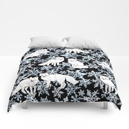 Foxes & Flakes Comforters