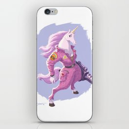 Lance Corporal Daphne Sparkle iPhone Skin