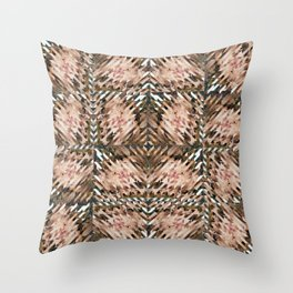 Dissection of infinite variations Throw Pillow