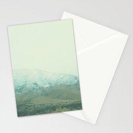 Mountain Greenery III Stationery Cards