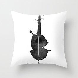celloink Throw Pillow