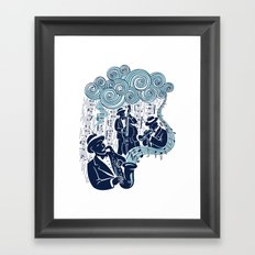 Got the Blues Framed Art Print