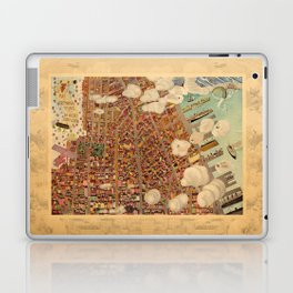 Map Of Greenwich Village 1920 Laptop & iPad Skin