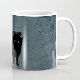 Cat and bird friends! Coffee Mug