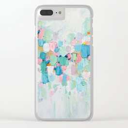 Amoebic Party No. 5 Clear iPhone Case