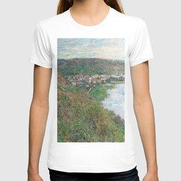 Monet - View of Vetheuil, 1880 T-shirt