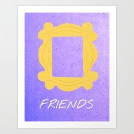 Friends 20th - Frame Art Print