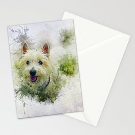 West Highland White Terrier Stationery Cards