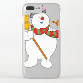 Frosty The Snowman New Sku Clear iPhone Case