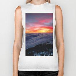 Sunrise from Mountaintop Biker Tank