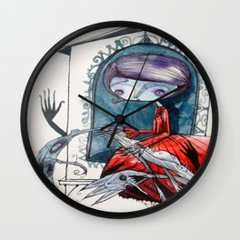 [picture of bad dream ] Wall Clock