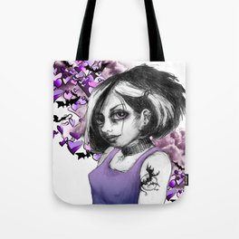 Z imagination The Goth Tote Bag