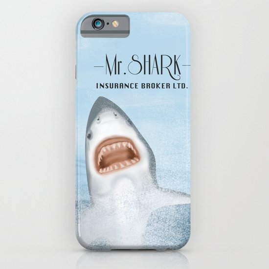 Mr. Shark Insurance Broker Ltd. iPhone & iPod Case
