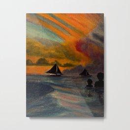 Boracay Sunset 1 Metal Print