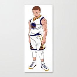 Steph Curry X Dragonball Z Canvas Print