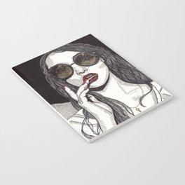 Rose Gold Galsses Notebook