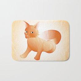 Red Little Fox (Full) Bath Mat