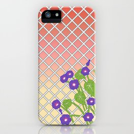 Morning Glory At Sunset iPhone Case