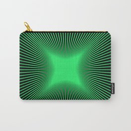 The Emerald Illusion Carry-All Pouch