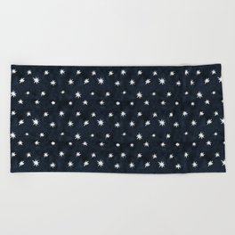Midnight Starlet Beach Towel