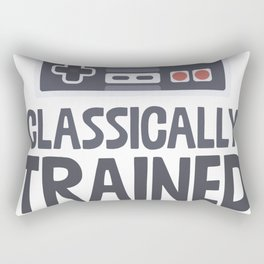 Classically Trained Rectangular Pillow