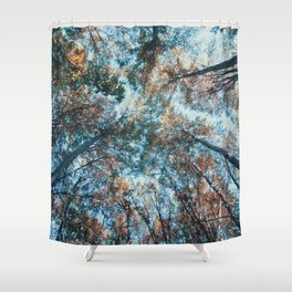 look up 02 Shower Curtain