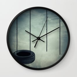 Whole and broken Swing Wall Clock