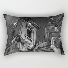 Pancevo Architecture - The Church of Assumption or Mary 2 Rectangular Pillow