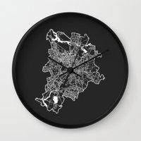 berlin Wall Clocks featuring BERLIN by Nicksman