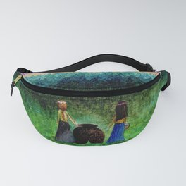 Snow-White and Rose-Red Fanny Pack