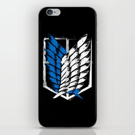 Attack on Titan Survey Corps iPhone Skin
