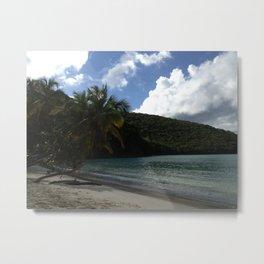 Maho Bay, St. John USVI Metal Print