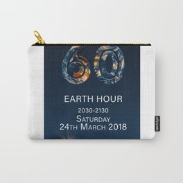 Earth Hour 2018 Carry-All Pouch