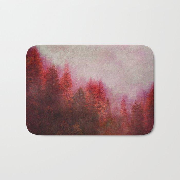 Dreamy Autumn Forest Bath Mat