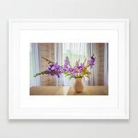 iris Framed Art Prints featuring Iris by Svetlana Korneliuk