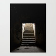Stairs of Light Canvas Print