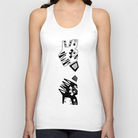tigers Tank Tops featuring Tigers by Berneri