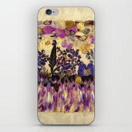 Petals As Paint - Purple Passion iPhone Skin