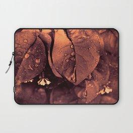 Bronzed bougainvillea Laptop Sleeve