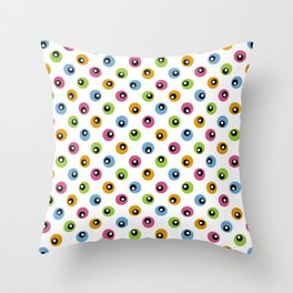 Candy Gifts Dots Throw Pillow