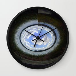 World in Motion Wall Clock
