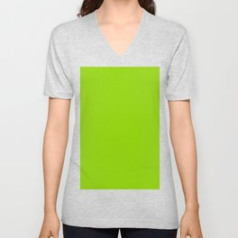 Sheen Green Unisex V-Neck