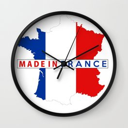 made in fance Wall Clock