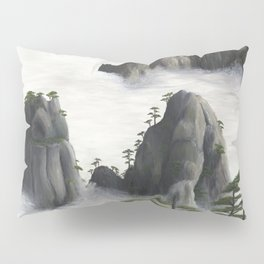 Huángshān (Yellow Mountains) Pillow Sham