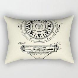 Mariner's Compass-1892 Rectangular Pillow