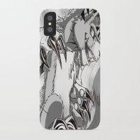 digimon iPhone & iPod Cases featuring + Digimon - Dorumon + by Xyeziaeos