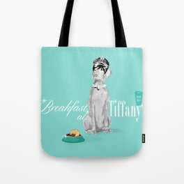 BREAKFAST AT TIFFANY'S WEIM Tote Bag