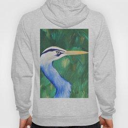 Heron in the Grass Hoody